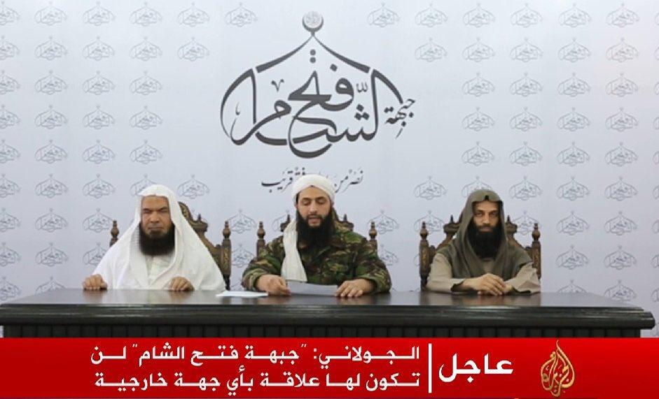 Jabhat al-Nusra von al-Qaida unabhängigerklärt