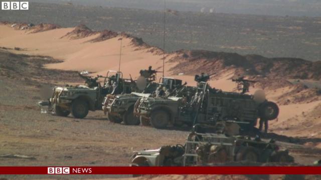 BBC veröffentlicht Bilder von britischen Spezialeinheiten inSyrien