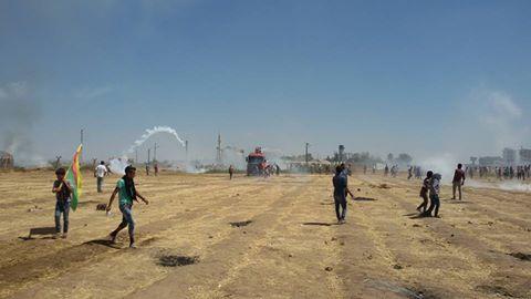 Türkische Armee attackiert Zivilisten in Kobane –Tote