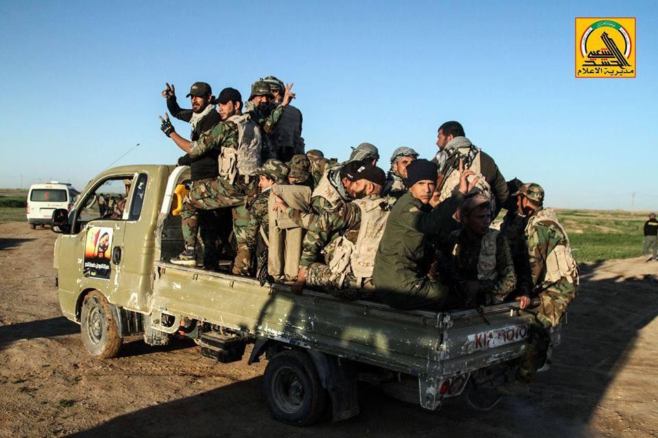 PMU startet neue Offensive südlich vonMossul