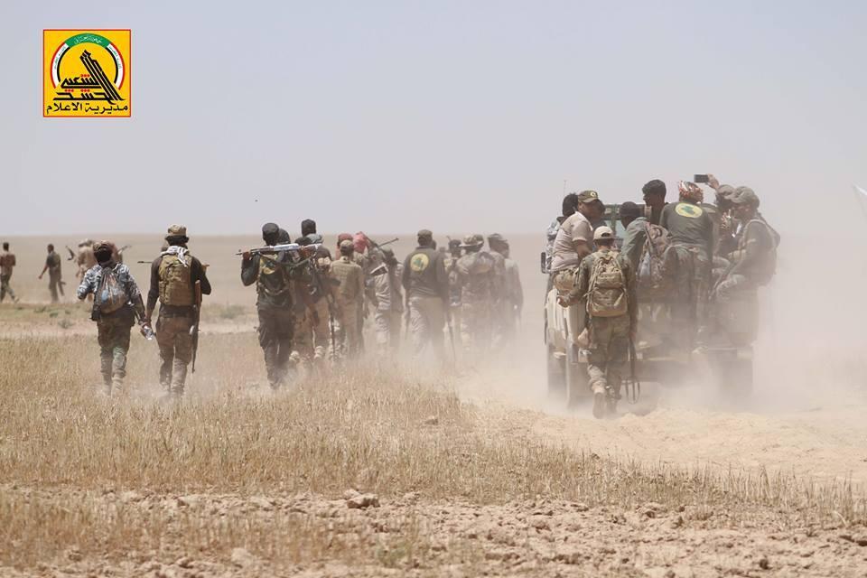 PMU nähert sich der syrischenGrenze