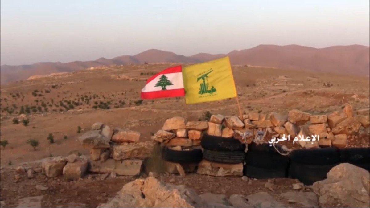 Al-Nusra hisst die weiße Fahne imLibanon