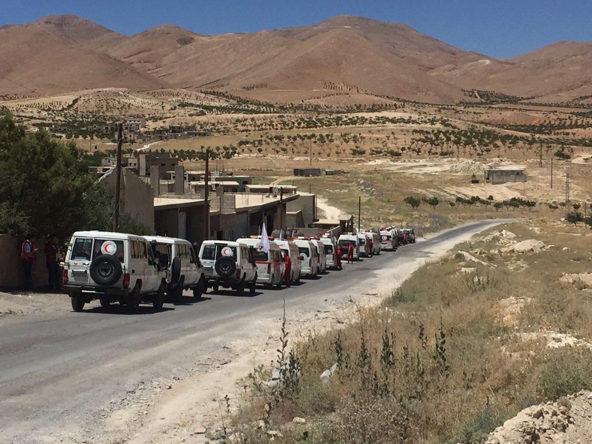 Beginn der Evakuierung von al-Nusra inArsal