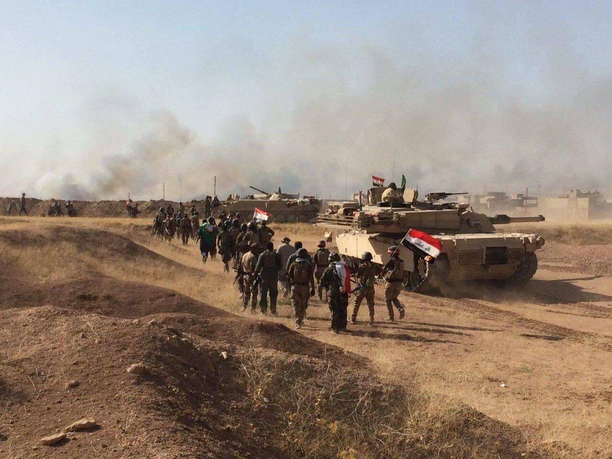 Irakische Streitkräfte betreten TelAfar