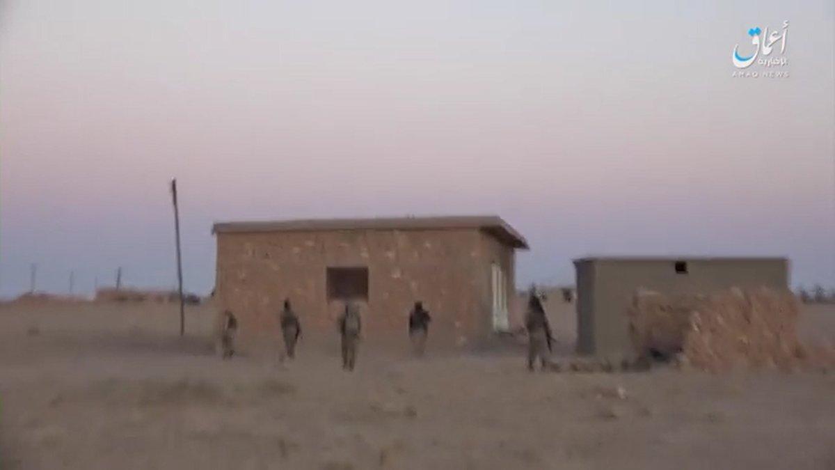 Große IS-Offensive auf die syrischeArmee