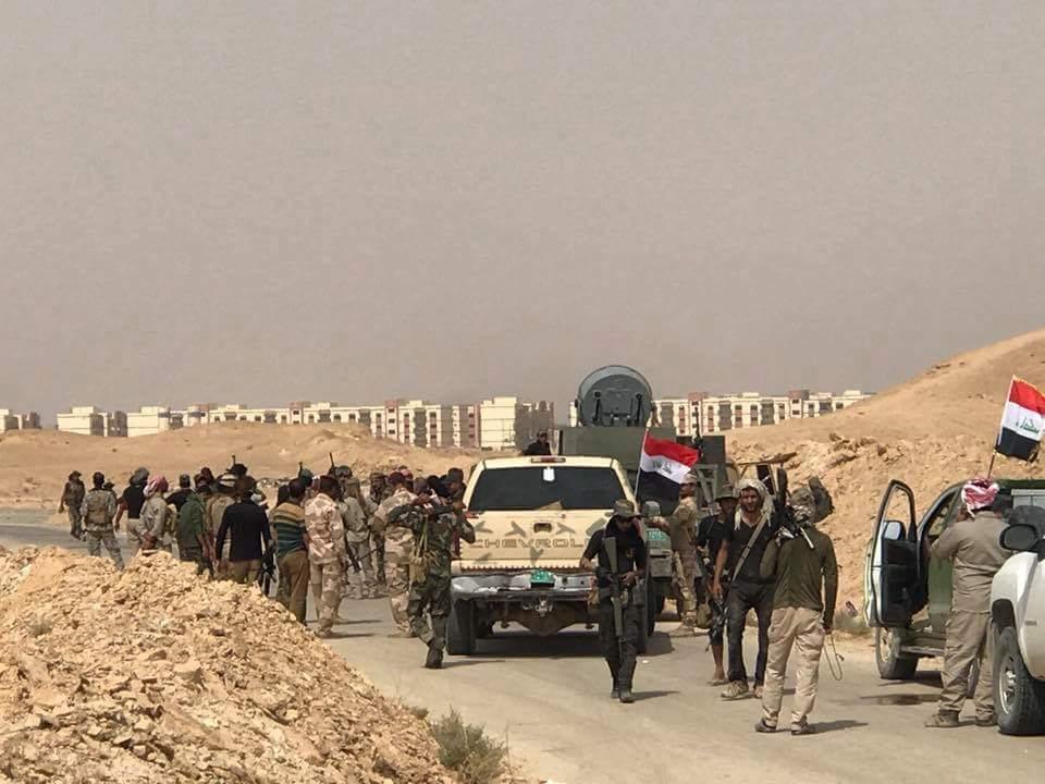 Irakische Armee erobertAnah