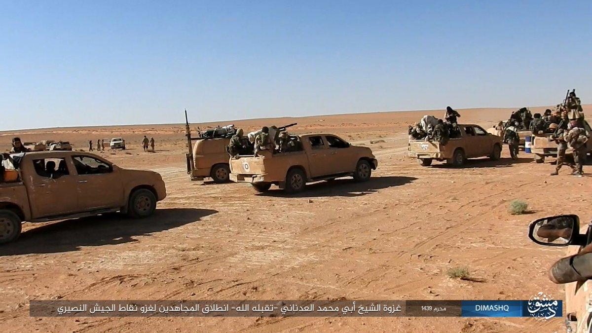 Syrische Armee wiedererobertal-Qaryatayn