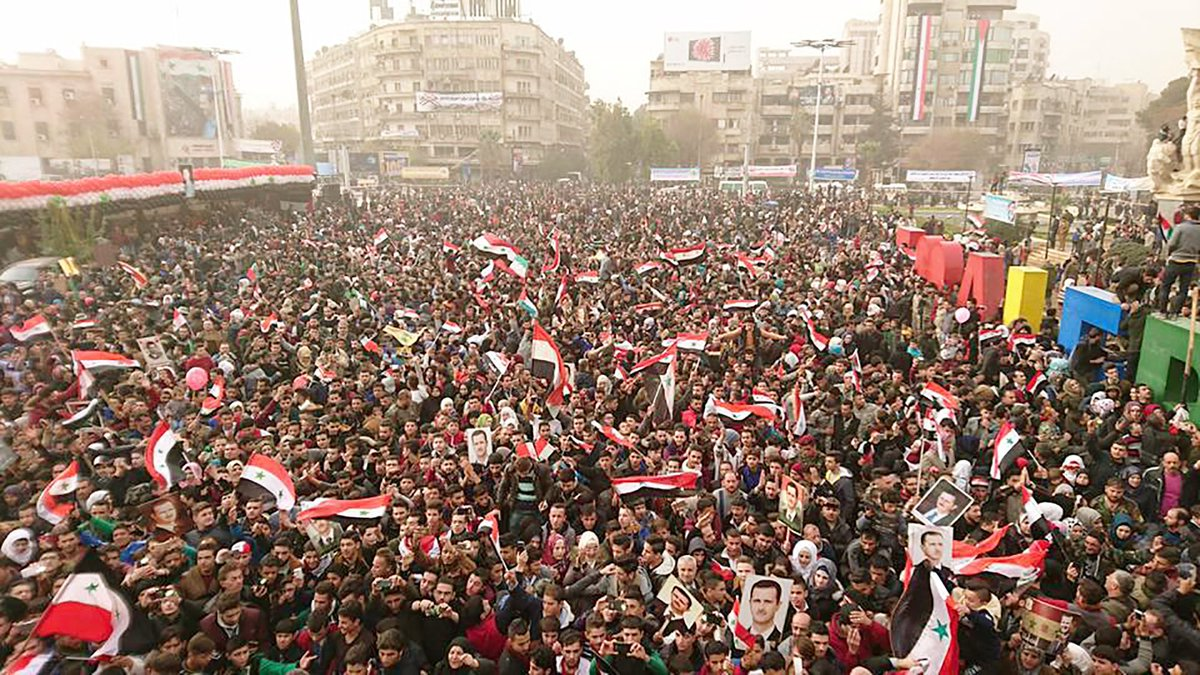 Aleppo feiert einjährigeBefreiung
