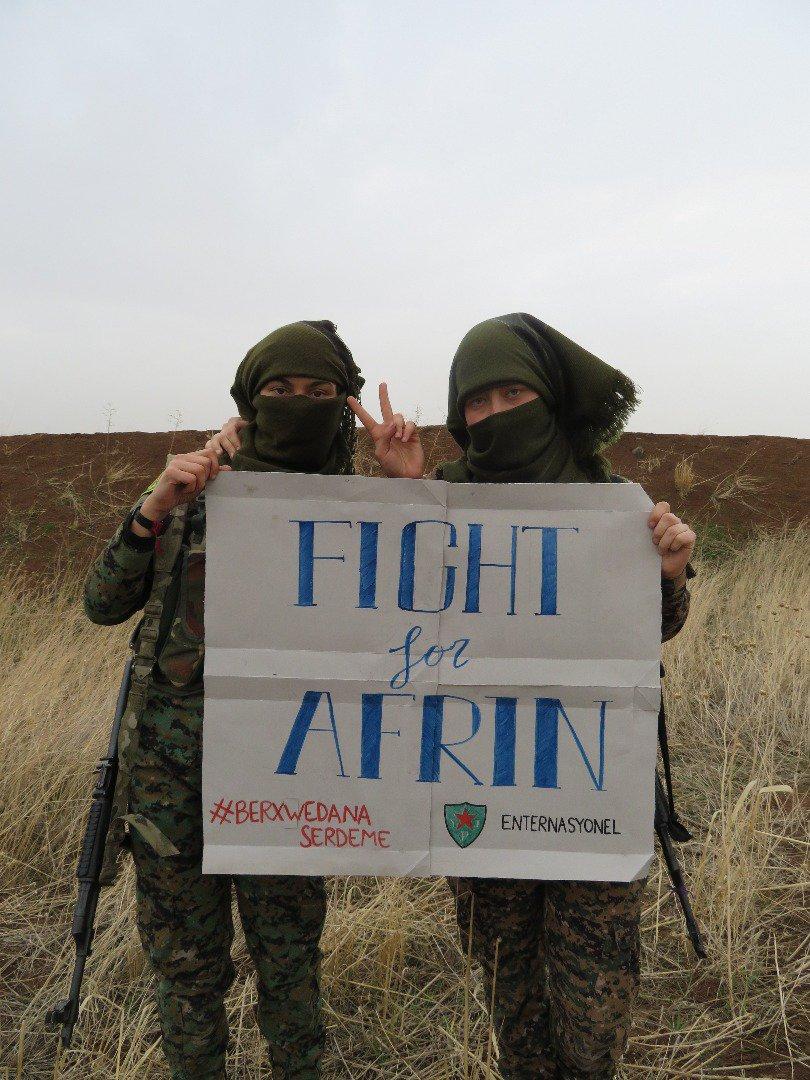 Türkei verliert gegen Kurden inAfrin