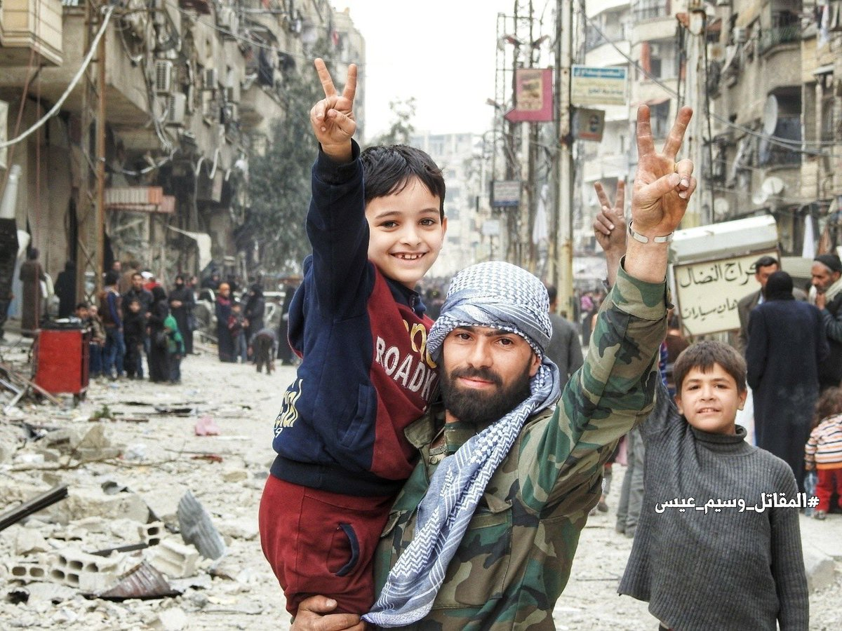 Kapitulation in Ost-Ghouta