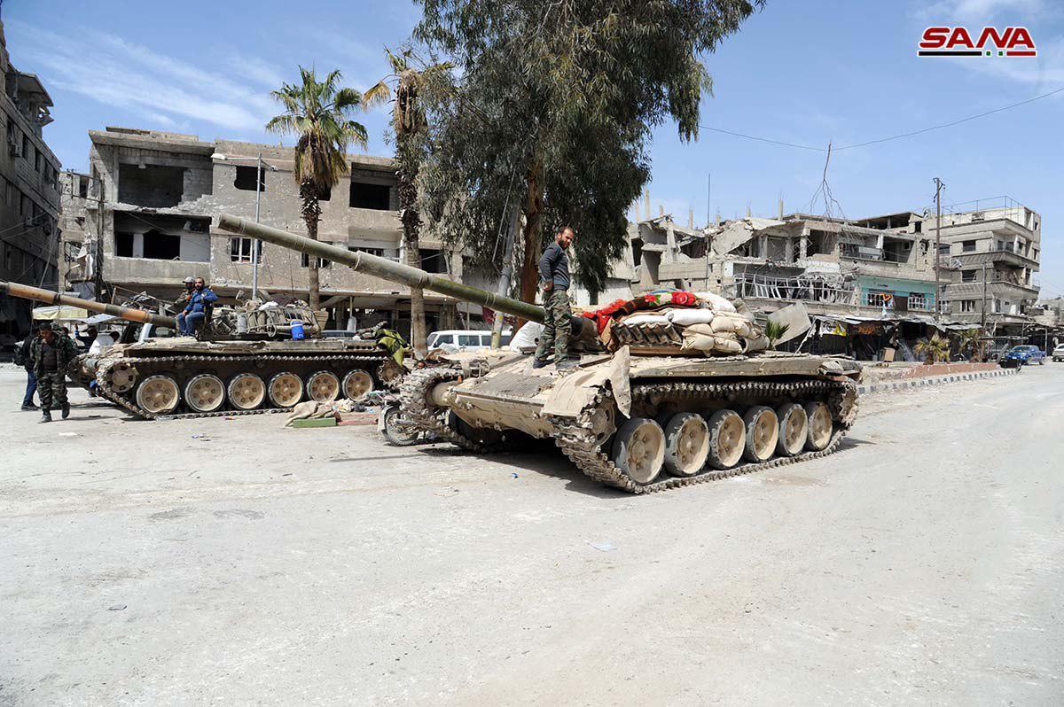 Teilevakuierung von Ost-Ghouta