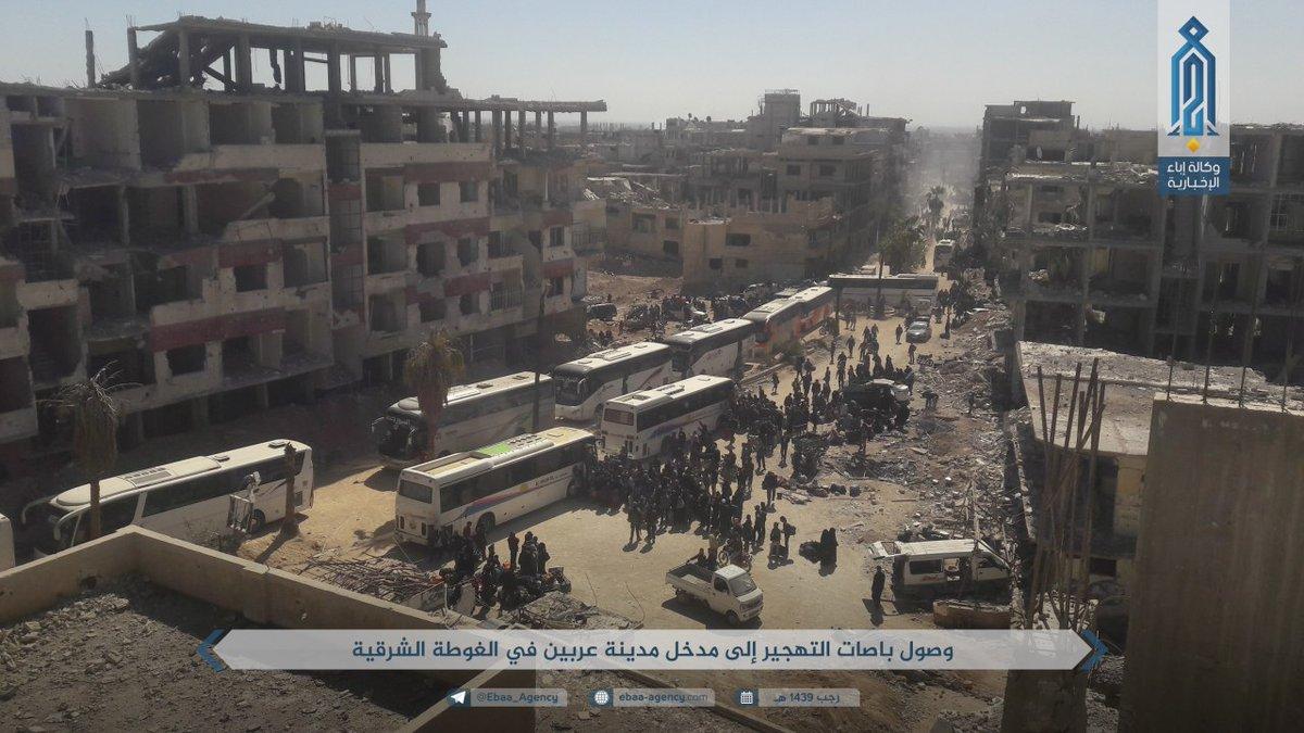 Ost-Ghouta vor derEroberung