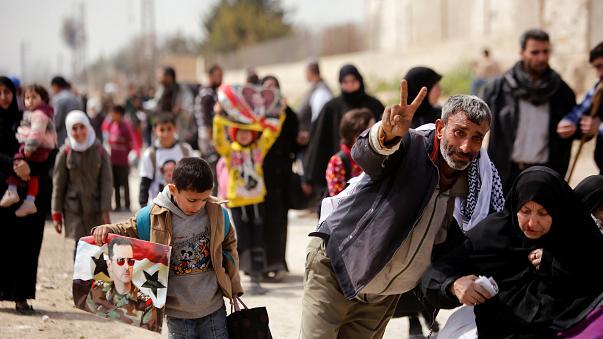 UN: 78% der Bevölkerung Ost-Ghoutas blieb in Regierungsgebieten