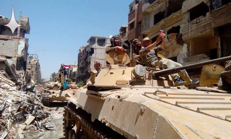 Damaskus wieder vollständig unter der Kontrolle derRegierung