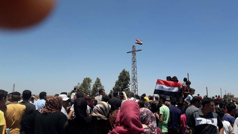 Proteste in Südsyrien fordern den Abzug derRebellen
