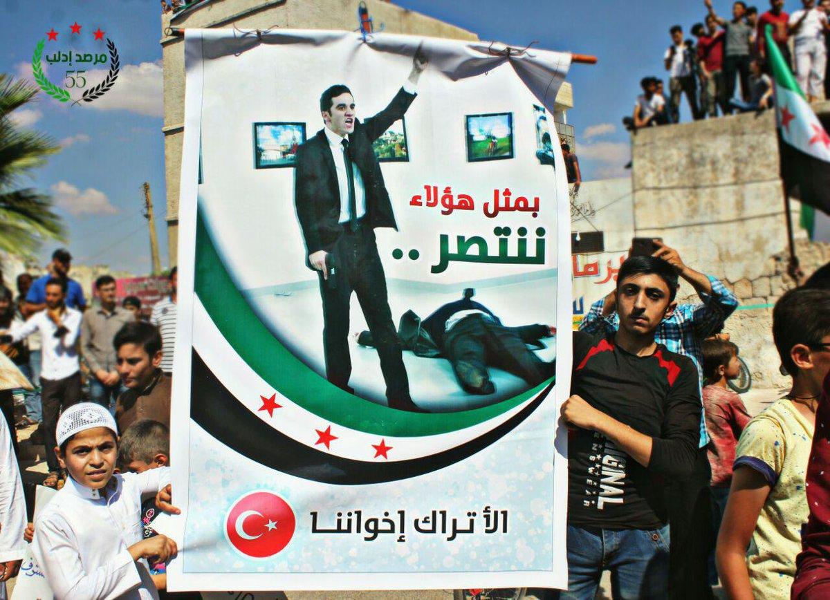 Islamisten inszenieren moderaten und zivilen Protest inIdlib