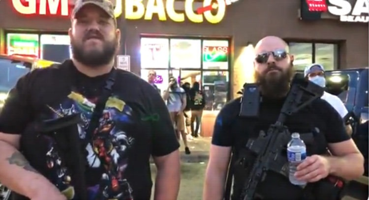 Minneapolis-Armed-Men-Protect-Store-750x407